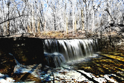 Hidden Falls of April 25