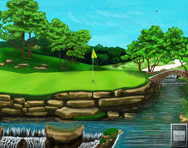 Fazio Green Dream Hole 16