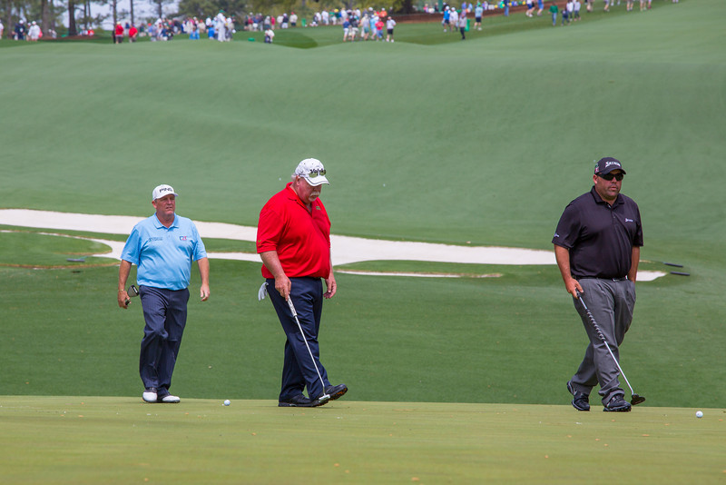 The only father & son to play in the same Master's - Craig & Kevin Stadler