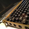 "Steampunk-style USB keyboard.<br><br>Exhibition ""The Mechanical Corps. On the Trail of Jules Verne"", Hartware MedienKunstVerein in the Dortmunder U through July 12 2015, http://hmkv.de"