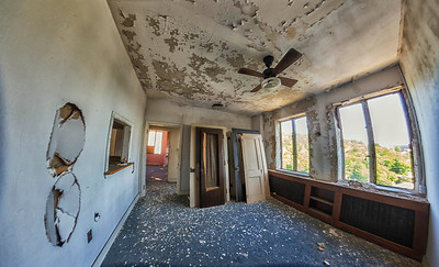 taken in the abandoned Medical Arts Building, Hot Springs, AR