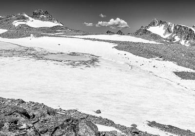 Ed Sherline, 2020.  Upper Fremont Glacier, Wind River Range, WY.