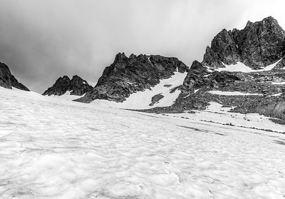 Ed Sherline, 2020.  Helen Glacier, Wind River Range, WY.