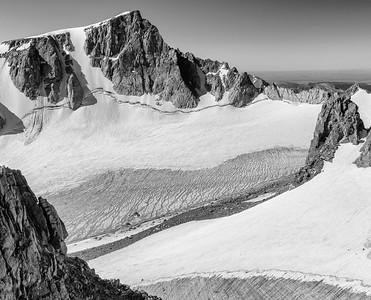 Ed Sherline, 2020.  Bull Lake Glacier, Wind River Range, WY.