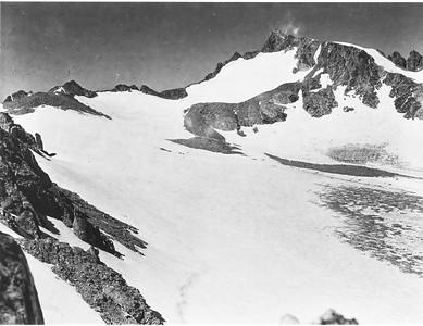 Mark F. Meier, 1950. Sacagawea Glacier, Wind River Range, WY.