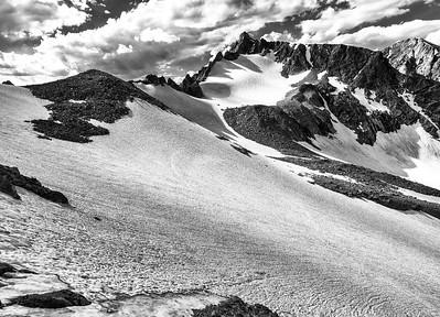 Ed Sherline, 2020.  Sacagawea Glacier, Wind River Range, WY.