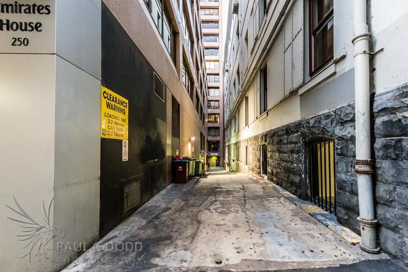 Private Laneway - 250 Flinders Lane