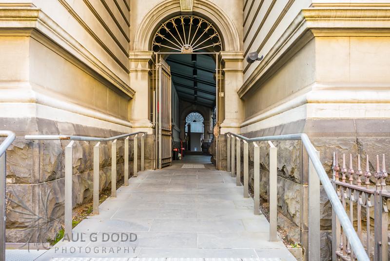 Private Laneway - Victoria University Law School