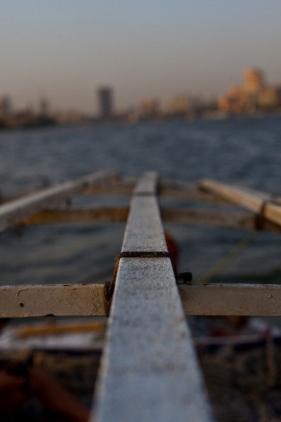 Felucca trip on the Nile.  Cairo, Egypt