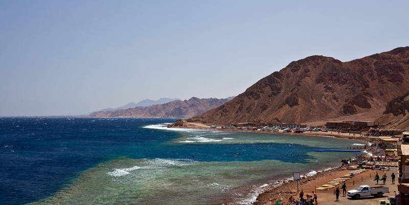 The Blue Hole made famous by the high number of fatalities.  A swiss tech diver died while I was there.  Dahab, Egypt