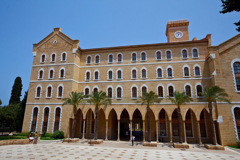 I wish I studied abroad here  American University, Beirut, Lebanon