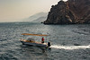 Fishing boat off the Musandam Peninsula
