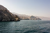 Coastline of the Musandam Peninsula