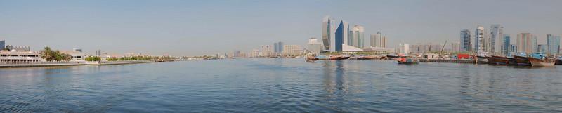 Dubai Creek Panorama