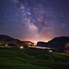 Blue Mtn Milky Way Vert