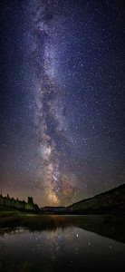 Green Lake Milky Way 90 Degree Panoramic I