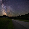 Green Mountain Road Milky Way