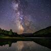 Green Lake Galactic Reflections