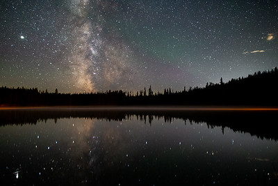 Idleback Lake Misty Milky Way 2020