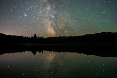 Cosmic Reflections At Mahoney Lake 2020