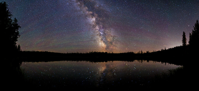 Idleback Lake Milky Way 180