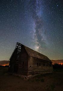 Haynes Barn Milky Way 2020