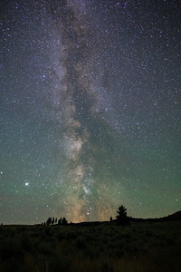 White Lake Grasslands Milky Way 2020