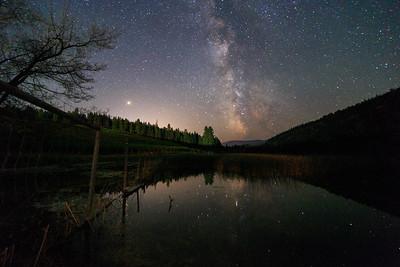 See Ya Later Ranch - Milky Way Reflections