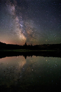 Mahoney Lake Milky Way Reflections