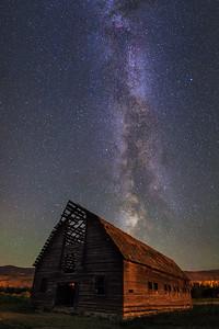 Haynes Ranch Milky Way Vertical Panoramic II