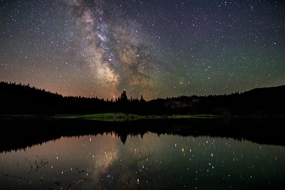 Galactic Magic at Mahoney Lake