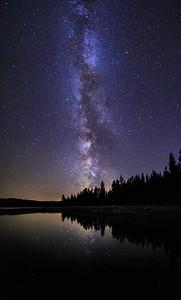 Ellis Reservoir, Milky Way 2016