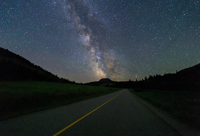 Green Mountain Road Milky Way 2018