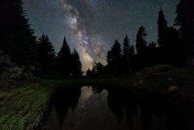 Lake Kobau Milky Way