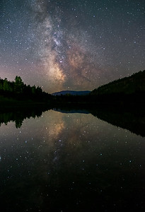 Green Lake Milky Way Stack 2020