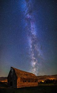Haynes Barn Vertical Panoramic