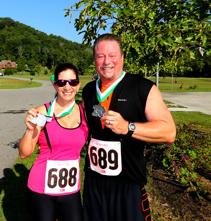 The Miners Mile 10K Charity Run, Jellico TN September 6, 2016