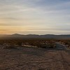 Setting Sun on the Mojave