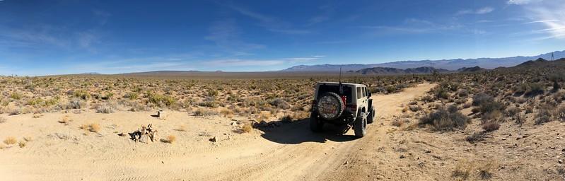 Mojave Road Pano