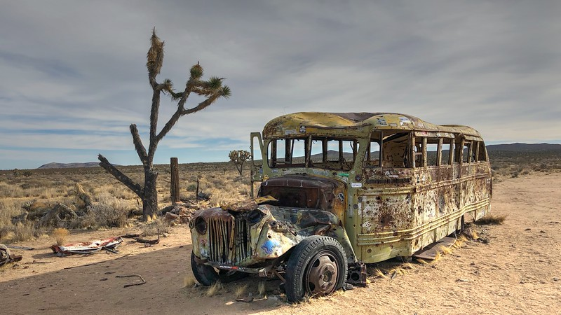 The Mojave School Bus