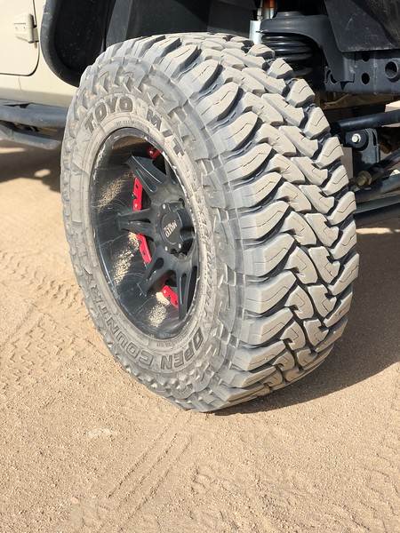Toyo MT's on MotoMetals