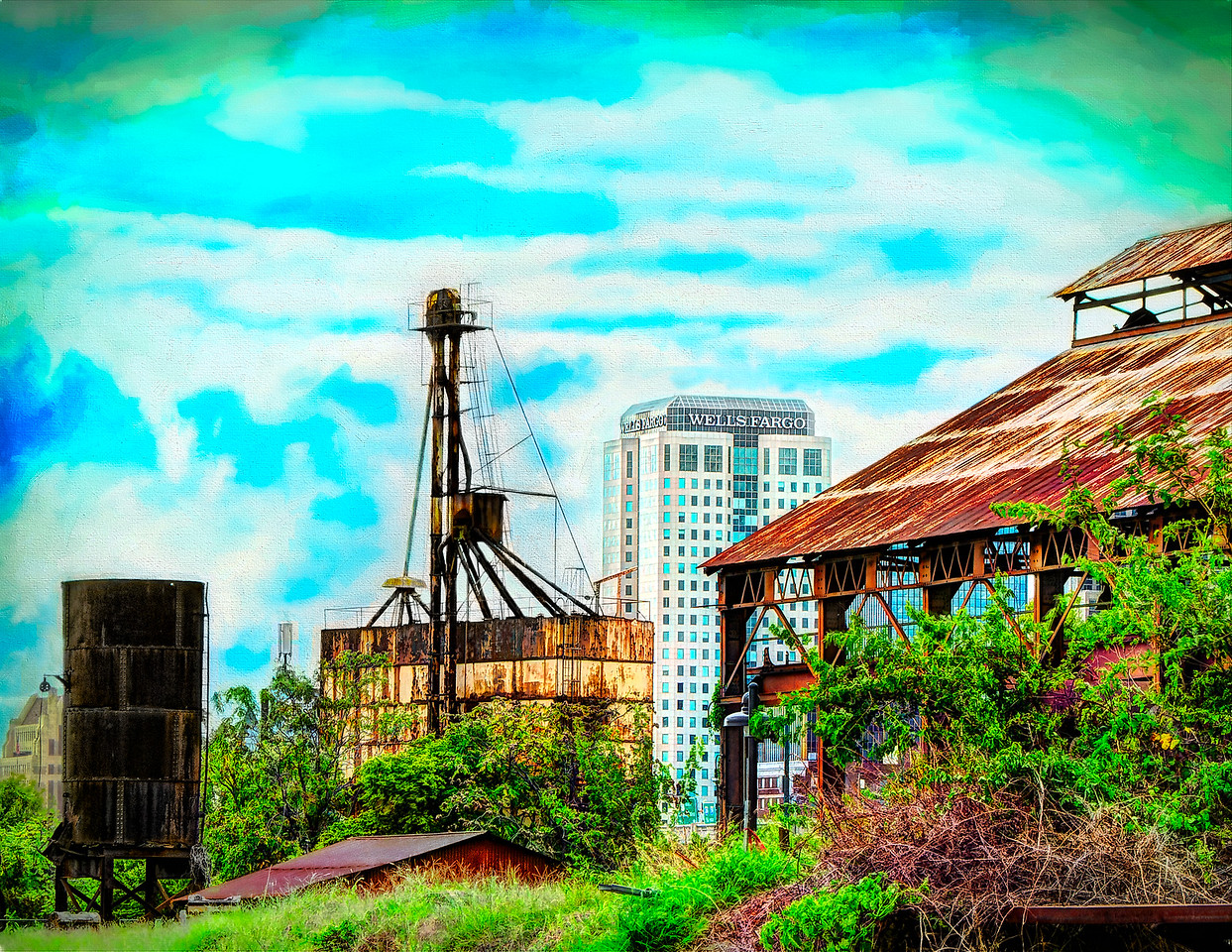 Mar --The theme is CityScapes. This is the Digital<br /> Sloss Furnaces, Birmingham
