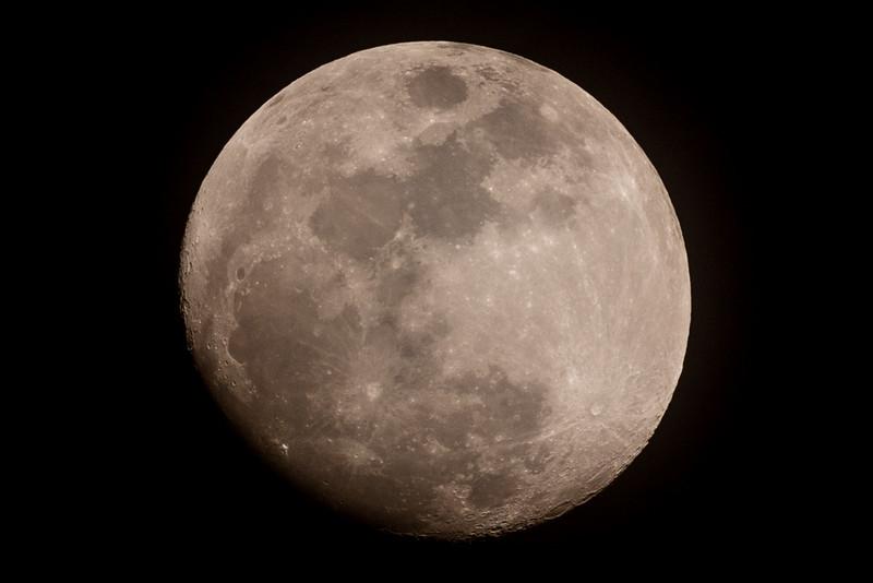 Nearly Full (96%) Moon