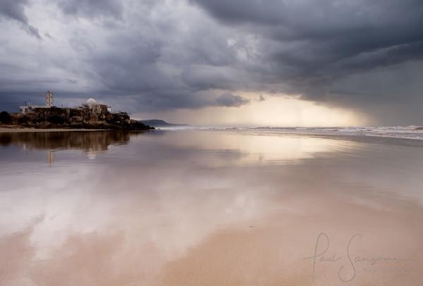 Special beach, Atlantic coast, Morocco.