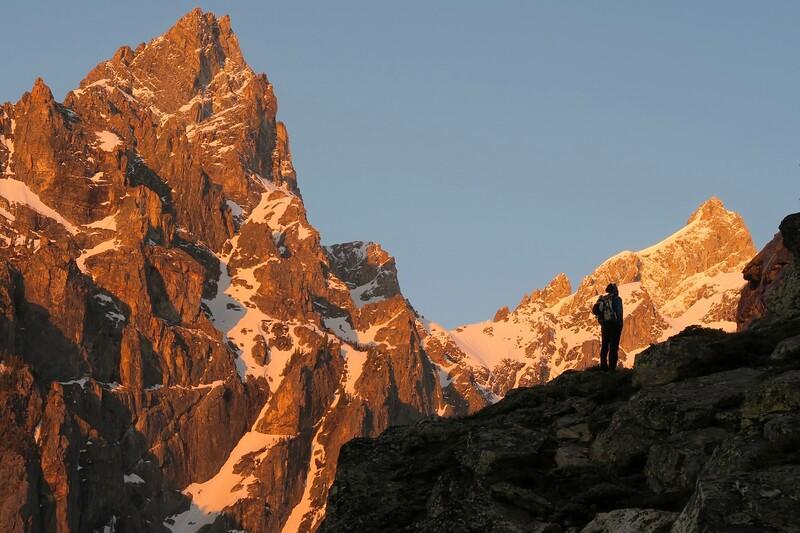 WY Teton alpine day climbs