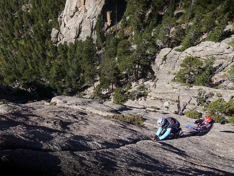 CO lumpy ridge/RMNP rock climbs