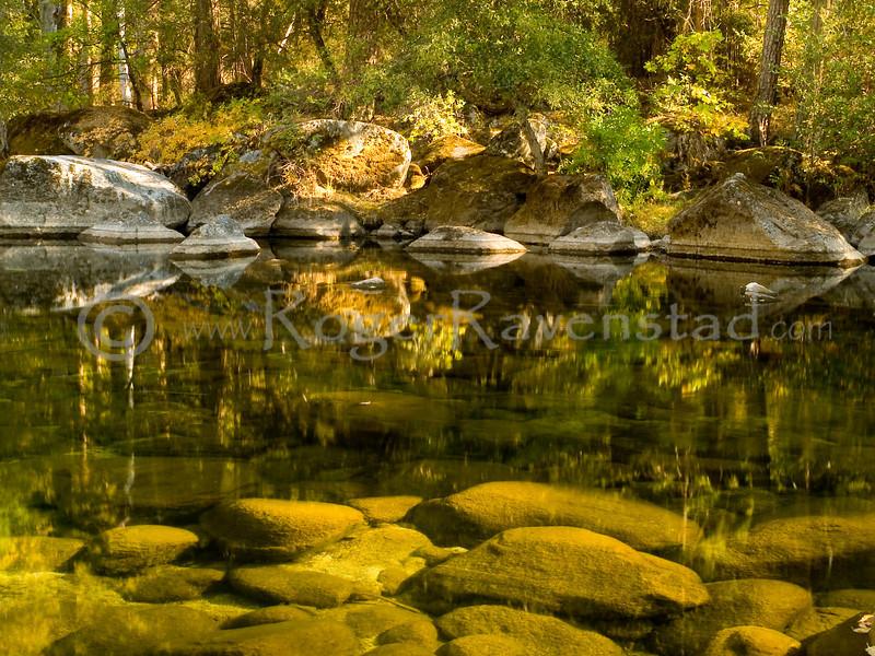 Tuolumne River in Fall