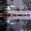 Early Morning Snow at Brentwood Lake  - December 2008