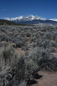 Southern View of Mt. Blanca