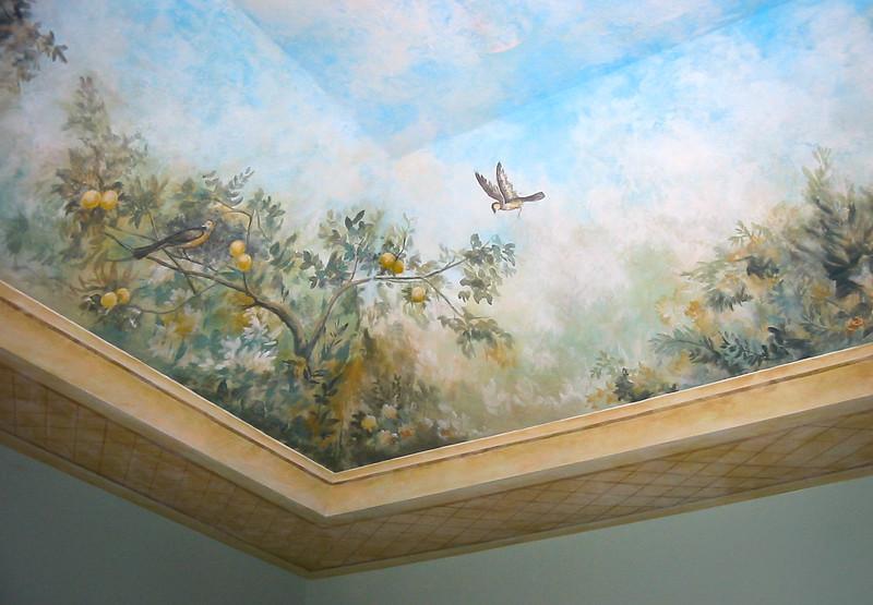 Livia's Garden Mural